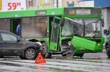 Partial Fault Bus Accident